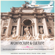 E-coffret billet d'avion : Architecture & Culture