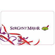 E-carte cadeau - Sergent Major