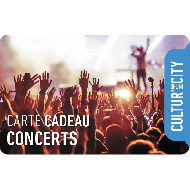 E-carte cadeau - Concerts - Cultur'in The City