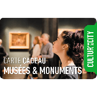 E-carte cadeau - Musées & Monuments - Cultur'in the City