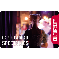 E-carte cadeau - Spectacles - Cultur'in the City