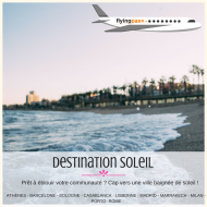 E-coffret billet d'avion : Destination au soleil