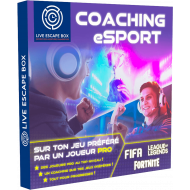 E-coffret Coaching eSport - Live Escape Box