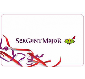 E-carte cadeau Sergent Major