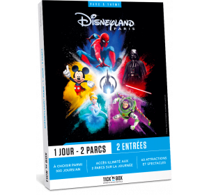 E-box Disneyland Paris 1Jour 2Parcs - Tick'nBox