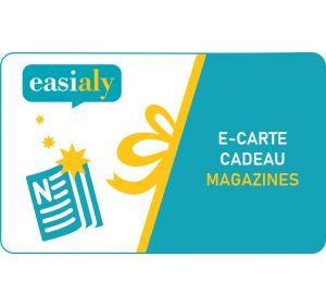 E-carte cadeau Magazines - Easialy