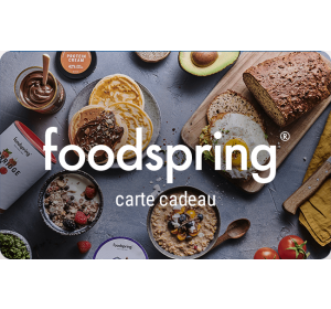 E-carte cadeau foodspring