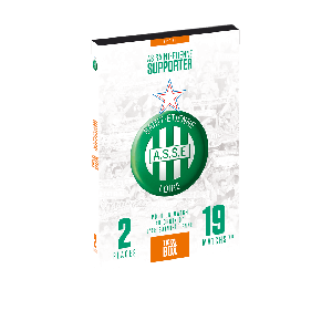 Box cadeau - AS Saint-Étienne Supporter - Tick&Box