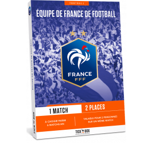 E-box Équipe de France de Football (FFF) - Tick'nBox