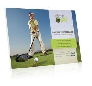 Coffret cadeau Golf Performance